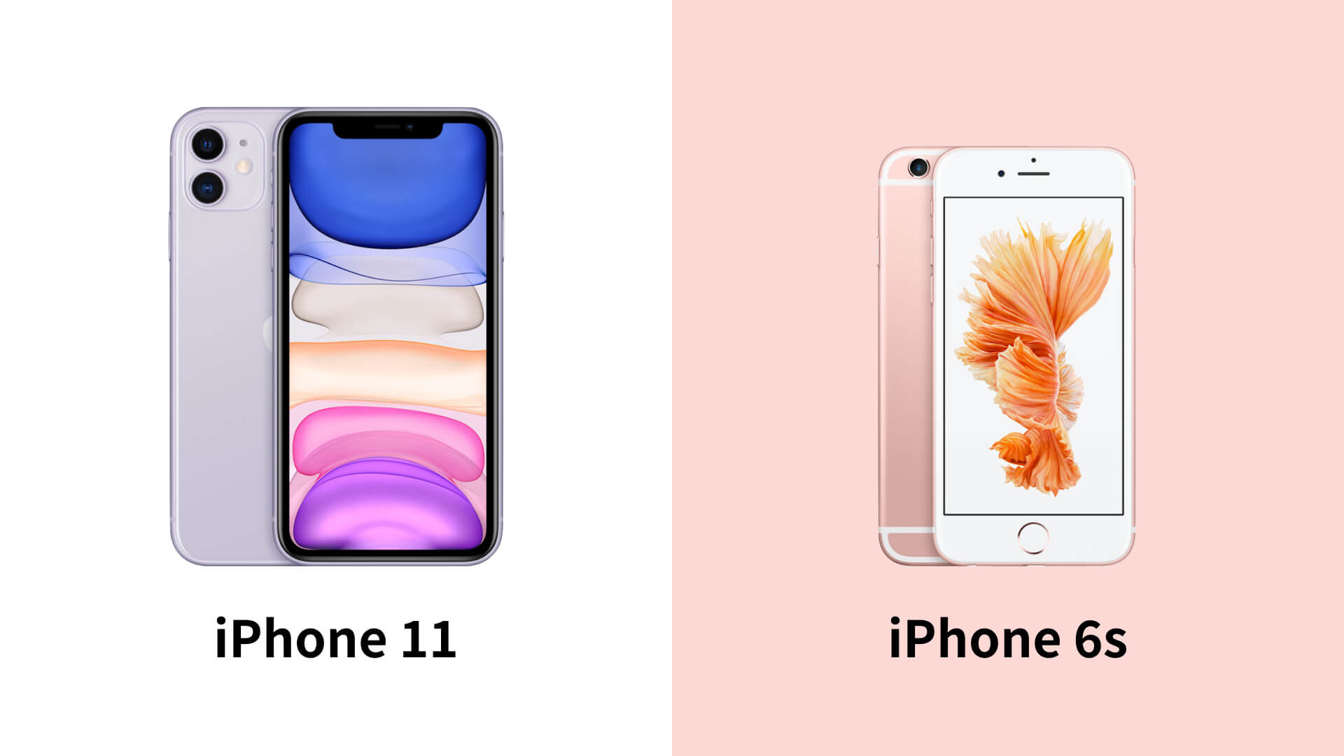 iPhone 11とiPhone 6sの違いは?機種変更前に知りたい機能を比較 ...